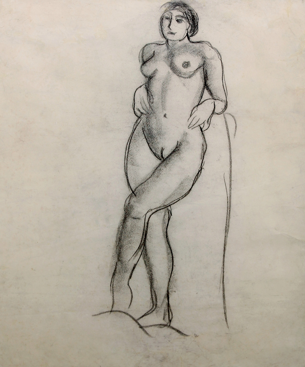 lot-29-amrita-sher-gil-charcoal-on-paper
